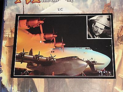 HOWARD HUGHES SPRUCE GOOSE FLYING BOAT WORLDS LARGEST PLANE Night View Whitney