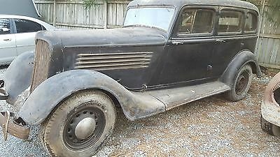 1934 Chrysler Other  1934 Chrysler-BARN FIND-LOOKS COMPLETE-ORIGINAL CAR-NO RESERVE WITH TITLE!!