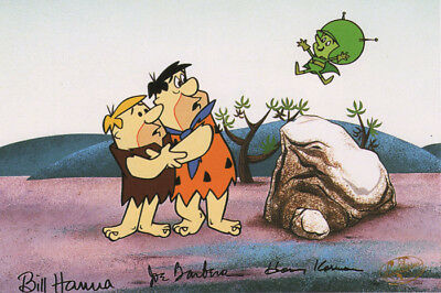 The GREAT GAZOO FLINTSTONES PRINT Hanna Barbera