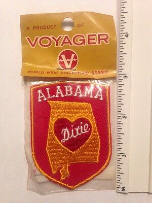 Trucker Sew On Patch Heart Of Dixie Alabama