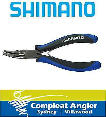 Shimano 420 Stainless Steel Split Ring Pliers BRAND NEW At Compleat Angler