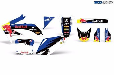CRF 450R Decal Graphic Kit Honda Dirt Bike Sticker Backgrounds CRF450 R 05-08 rb