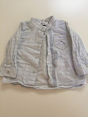 Baby Dior Long Sleeve Shirt Size 6m