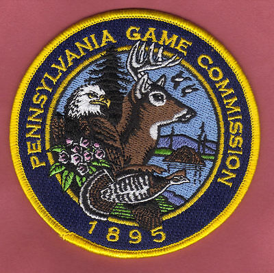 """Pa Pennsylvania Game Commission NEW 4"""" 2nd Issued Version Centennial Patch ( A )"""