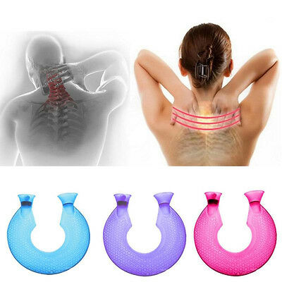 Pratical Relaxing Hot Water Bottle U-shape Neck Warmer Massage Cold Therapy
