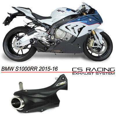 BMW S1000RR 15/... Exhaust muffler no headers CS Racing Taylor Made Style