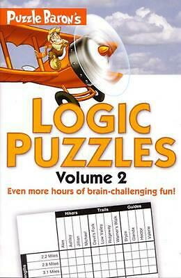 Puzzle Baron's Logic Puzzles, Volume 2 by Puzzle Baron (English) Paperback Book