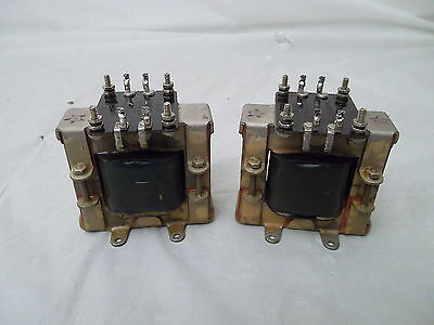 KELLOGG S&S Co. AUDIO TRANSFORMER Code 507 2pc 1920's INTERSTAGE - TESTED