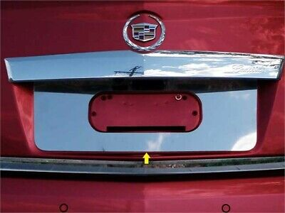 Fits 2010-2016  CADILLAC SRX 4-door -Stainless Steel License Plate Bezel