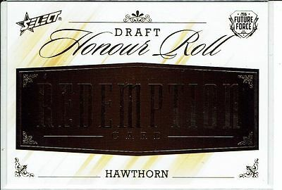 2016 Select AFL Future Force Redemption Card DHRR10 Hawthorn Limited Ed. 79/100