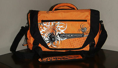 Large Spiderwire Orange Fishing Tackle Bag