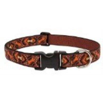"LupinePet Originals 1"" Down Under 12-20"" Adjustable Collar for Medium and Larger"