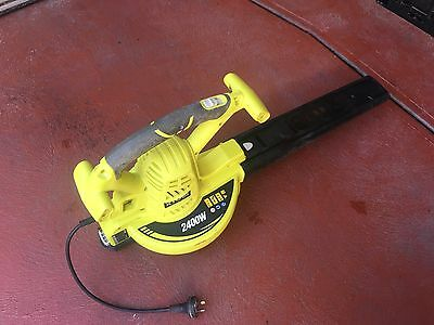 RYOBI Electric Blower RBV2400CS  2 function 2400w in GREAT CONDITION