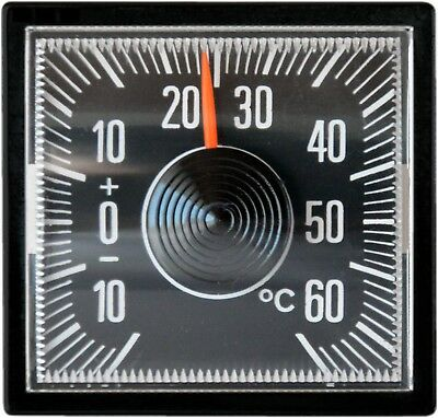 RICHTER Mini Bimetall Thermometer mit Magnethalter HR Art. 4527