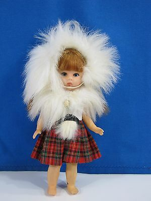"""Vintage Vogue 'Ginny' Doll From 1977, 8"""" Tall Scottish"""