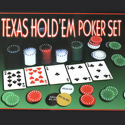200PCS Portable Poker Chip Set Steel Case Two Card Set Game Family