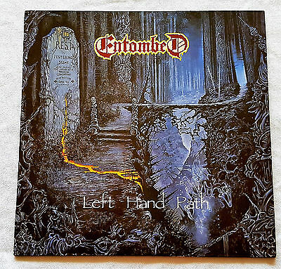 Entombed - Left Hand Path - LP - 1990 Rare First Press Earache OIS Dismember