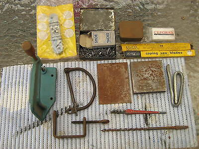 Selection of vintage tools