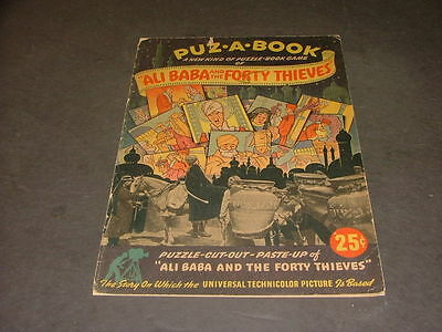 Puz A Book Ali Baba & The 40 Thieves 1944 Rand McNally Universal Picture ID:1088