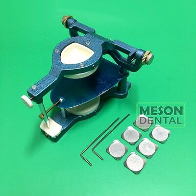 1Pack Dental Lab Large Full mouth style Magnetic Articulator excellent Sus
