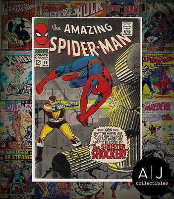 The Amazing Spider-Man #46 (I Marvel M) VG - FN! HIGH RES SCANS!