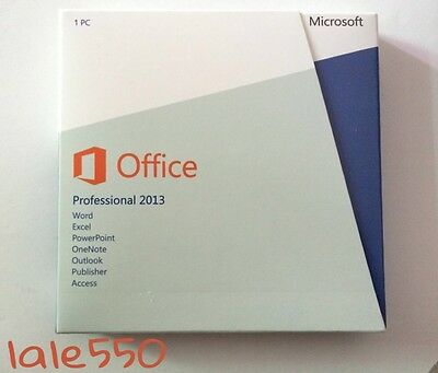 Microsoft Office 2013 Professional New Sealed Box Free Shipping