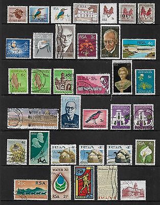 SOUTH AFRICA - mixed collection No.22, decimal
