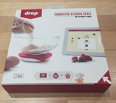 New DROP CONNECTED KITCHEN SCALE & RECIPE APP