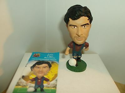 CORINTHIAN LUIS FIGO BARCELONA PRO256 PROSTAR FIGURE with CARD