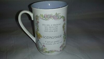 Precious Moments Godmother Coffee Tea Cup 1989