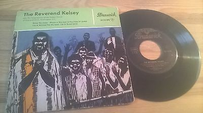"7"" Religion Reverent Kelsey - Same / Untitled EP (4 Song) BRUNSWICK REC"