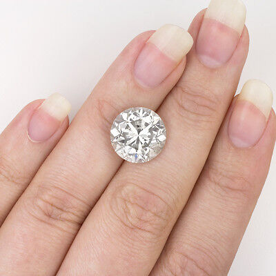 7.55ct NATURAL ROUND CUT DIAMOND EGL-USA CERTIFIED REAL 7 8 10 CARAT EARTH-MINED