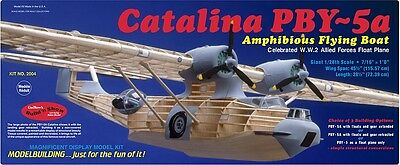 GUILLOWS MODEL KIT Catalina PBY-5A Flying Boat 1/28 Complete