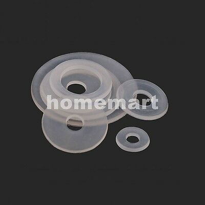 M3-M20 ALL kinds Nylon Flat Washers shim Metric Bolts Screws gasket spacer Seat