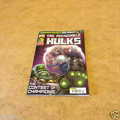 MARVEL COLLECTORS EDITION THE INCREDIBLE HULKS ISSUE 5 4th JAN 2017 NEW UNREAD