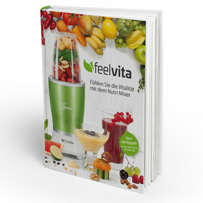 Genius Feelvita | Rezeptbuch | Backen | Kochen | Smoothies | Cocktails | NEU