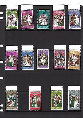 Stamps Christ's Passion , First Station Of The Cross