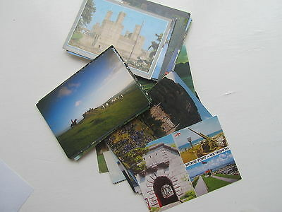 Castles Collection 50  Postcards as collected in the UK