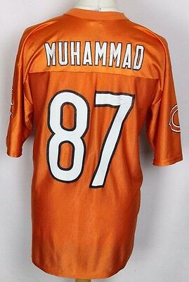 Muhammad #87 Chicago Bears American Football Jersey Nfl Reebok Mens Large