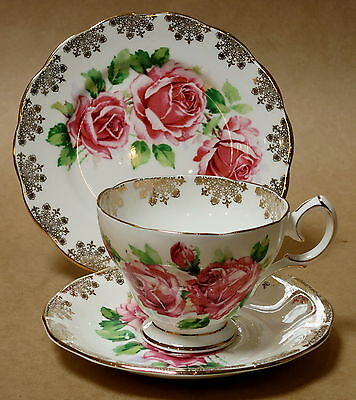Vintage Queen Anne Trio Cup Saucer Plate 5096