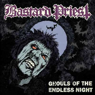 BASTARD PRIEST - Ghouls of the Endless Night  LP  BLACK