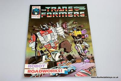 Transformers G1 UK Marvel Comic Issue #92 20th Dec. '86 RARE