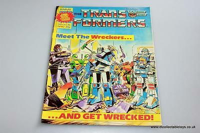 Transformers G1 UK Marvel Comic Issue #82 11th Oct. '86 RARE
