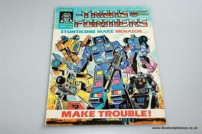 Transformers G1 UK Marvel Comic Issue #91 13th Dec. '86 RARE