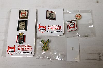 Manchester United Supporters Trust Pin Badge Collection