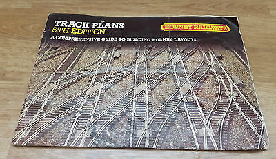 HORNBY OO GAUGE 5th EDITION TRACK PLANS BOOK