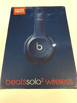 Brand New Sealed - Beats By Dr Dre Solo2 Wireless On-Ear Headphones BLUE
