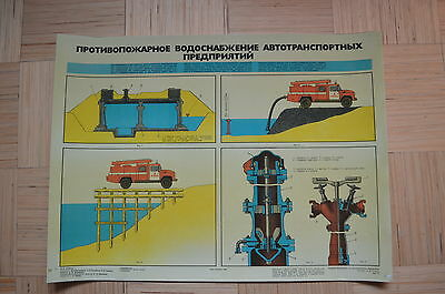 Russia Fire Safety poster #3.