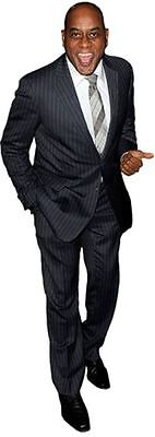 Ainsley Harriott Cardboard Cutout (life size OR mini size). Standee. Stand Up.