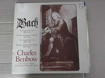 CHARLES BENBOW plays BACH (geman evangelical church organ) LP 6581 019